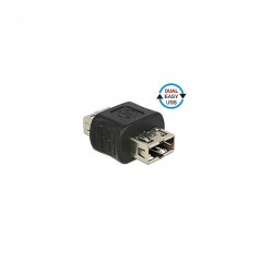 DELOCK USB Adaptor Type-A Female to Type-A FemalE 65642